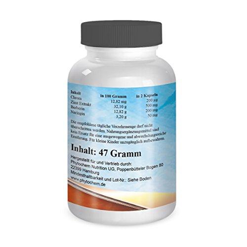 SUGAR BALANCE | Natürliche Inhaltsstoffe für einen gut funktionierenen Insulinhaushalt | 60 Kapseln | Premium Qualität aus Deutschland