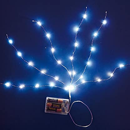 LuminalPark-Minicascata-ciuffo-Metal-50-cm-60-microled-batteria