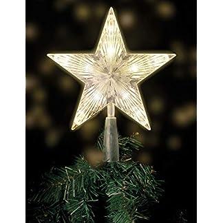 Weihnachtsbaumspitze-mit-10-LED-mit-Stromstecker-18-x-22-cm-beleuchtete-Christbaumspitze-in-warmwei-Weihnachtsbaum-Stern-Spitze-Baumspitze