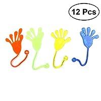 TOYMYTOY-Sticky-Hands-12pcs-Sticky-Hnde-Spielzeug-fr-Party-Favors-12pcs-zufllig