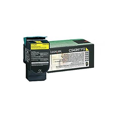 Lexmark-C540H1YG-C540-C543-C544-X543-X544-Tonerkartusche-2000-Seiten-Rckgabe-gelb