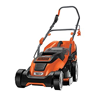 BlackDecker-Edge-Max-Elektro-Rasenmher-1600W-38-cm-Schnittbreite-E-Drive-Technologie-Compact-Go-Funktion-IntelliCable-Management-EMAX38I-schwarz-orange