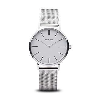 BERING-Damen-Analog-Quarz-Uhr-mit-Edelstahl-Armband-14134-004