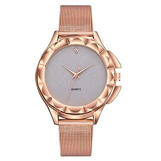 PLOT-Frauen-Mdchen-Damen-Schne-Mode-Kristall-Edelstahl-Analoge-Quarz-Armbanduhr-Uhr-fr-Weibliche-Studenten