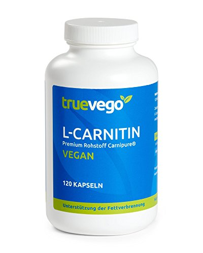 L-Carnitin Carnipure®, extra hochdosiert 750mg pro Kapsel, unterstützt die Fettverbrennung, Body Shaping, Definitionsphase, 120 Kapseln, vegan
