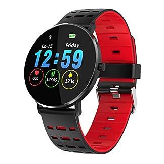 Berrose-Smartwatch-Mehrere-Sportmodi-Laufen-Schwimmen-Wandern-Radfahren-Basketball-Badminton-Anrufe-zum-Erinnern-SMS-Erinnerung-Erinnerung-von-Drittanbieter-Messaging
