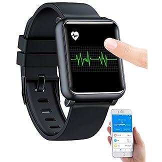 newgen-medicals-Fitnessuhr-Fitness-Uhr-mit-EKG-Blutdruckanzeige-Bluetooth-Touchdisplay-IP68-Smartwatch-Blutdruck