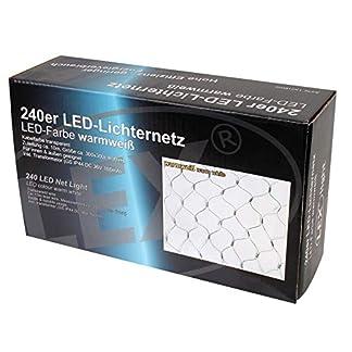 240-er-LED-Lichternetz-Strom-fr-auen-Strom-Lichtfarbe-warmweiss-Kabel-grn