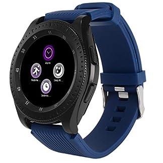 Balock-Schuhe-Intelligente-UhrBluetooth-30-Smart-WatchSchrittzhler-SchlafberwachungSmartwatch-Runden-mit-SIM-Karte-Slot-Fitness-UhrFitness-Tracker-Sport-Uhr-fr-Damen-Herren-Kinder