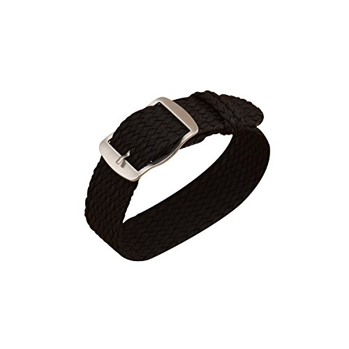 Ullchro-Nylon-Uhrenarmband-Ersatzarmband-Perlon-Gewebte-Armbanduhr-NATO-Herren-Damen-14-1618-20-22mm-Uhrenband-mit-Edelstahl-Silberne-Schnalle