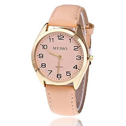 Sepbear-Damenuhr-Zahlen-Ziffern-Armbanduhr-Casual-Mode-Analog-Quarz-mit-Batterie-und-Edelsathl-Armband-Uhr