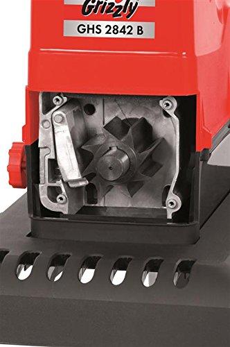 Leise-Walzenhcksler-GRIZZLY-GHS-2842-B-mit-transparenter-Auffangbox-extra-leise-kraftvoller-2800-Watt-Motor-einfache-Handhabung-mit-Rder-leicht-zu-transportieren-Stiftung-Warentest-042011-gut-Heimwerk