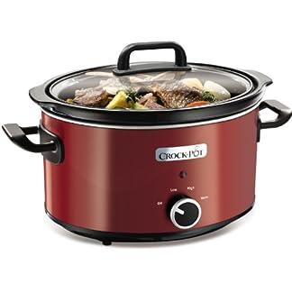 Crock-pot-SCV400RD060-Das-Original-aus-den-USA-Slow-Cooker-35-L-Kapazitt-ideal-fr-2-3-Personen