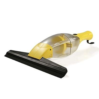 CLEANmaxx-02304-Akku-Fensterreiniger-Streifenfreie-Sauberkeit-Fenster-Fliesen-Spiegel-UVM-Keine-Tropfen-Li-Ion-Akku-1500-mA-Gelb