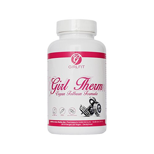 Girl Therm – Fatburner mit Grüne Kaffebohnen, Grüner Tee, Guarana, Chitosan usw 90 Kapseln