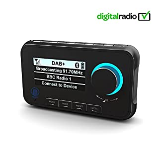 Majority-Journey-A10-DABDAB-Auto-Digital-Radio-Adapter-Transmitter-Bluetooth-Freisprecheinrichtung-Musik-Streaming–DAB-Auto-Radio-Empfnger-mit-integriertem-FM-Transmitter–mit-Zubehr