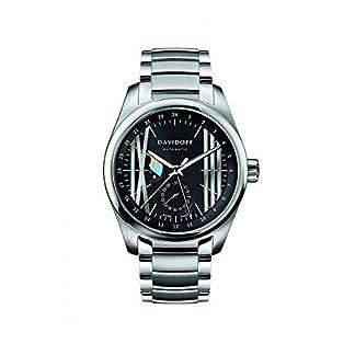 Davidoff-Herren-Armbanduhr-Analog-Automatik-Edelstahl-21137