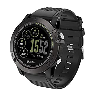 Hukz-Intelligente-Multifunktionale-SportuhrZeblaze-VIBE-3-HR-Smart-Watch-Telefon-Sport-Herren-Smartwatch-FR-iOSAndroid