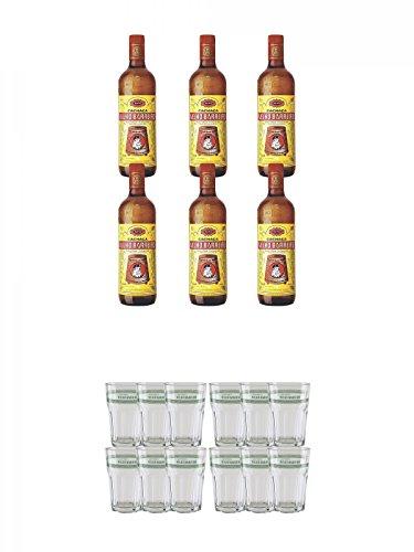 Velho-Barreiro-Silver-Cachaca-Originalabfllung-6-x-10-Liter-Velho-Barreiro-Caipirinha-Glas-6-Stck-Velho-Barreiro-Caipirinha-Glas-6-Stck