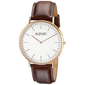 August-steiner-Herren-Armbanduhr-Man-AS8084XRG-Analog-Quarz-AS8084XRG