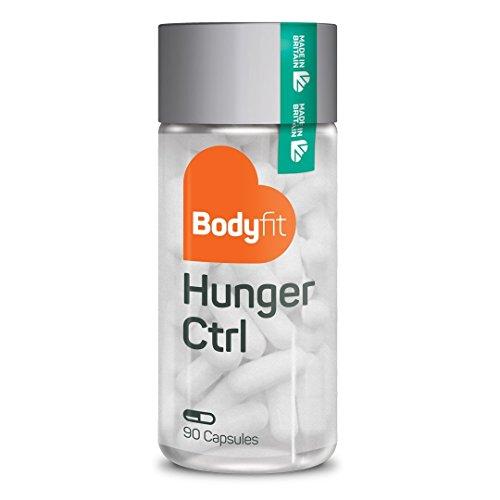 Gesund abnehmen mit Bodyfit Hunger Ctrl Appetitzügler – 90 vegane Kapseln I natürliches Nahrungsergänzungsmittel zum Abnehmen Appetithemmer Sättigungskapseln Diät Kapseln Abnehmhilfe