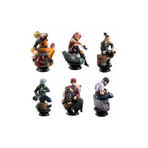 Naruto-Anime-6-Stck-Schach-Stil-Figur-Set