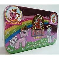 Filly-Unicorn-Metallbox-Serie-1-mit-Rose-und-Sparkle-Abbildung-Die-Filly-Unicorn-Tinbox-ist-der-ideale-Platz-um-die-Filly-Kollektion-zu-sammeln-Inhalt-1-Filly-Unicorn-Sonderfigur-Varita-und-1-weiteres