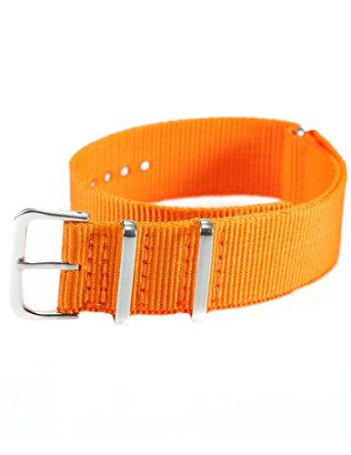 EASTPOLE-20-mm-Nylon-Uhrenband-Durchzugsband-Uhrenarmband-Uhren-Armband-Band-Unisex-Neu