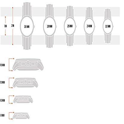 Fossil-Tailor-Damen-Armbanduhr-aus-Edelstahl-Handgelenk-Uhr-inkl-Wochentags-Datumsanzeige-wasserfestes-analoges-Quarzuhrwerk-mit-Zeiger
