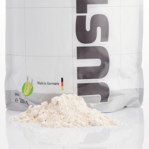 Just Oats Hafervollkornmehl – Instant Hafer-Mehl – Reich an Protein, Kohlenhydrate & Ballaststoffe / 2 kg