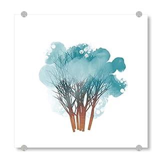 artboxONE-Acrylglasbild-Illustration-Baum-Bild-hinter-Acrylglas-Bild-Baum-Tree-Winter