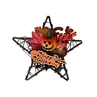 Weihnachtskranz-Herbst-Deko-Kranz-Mit-Leichtem-Krbis-Trkranz-Rattan-Garland-Holz-Fnf-Sterne-Ahornblatt-Krbis-Tischkranz-Deko-Wandschmuck-Thanksgiving-Halloween-Weihnachts-Blatt-Dekoration-Pendant