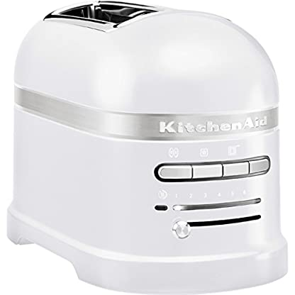 Kitchenaid-5KMT2204EFP-Artisan-Toaster-fr-2-Scheiben-Frosted-Pearl