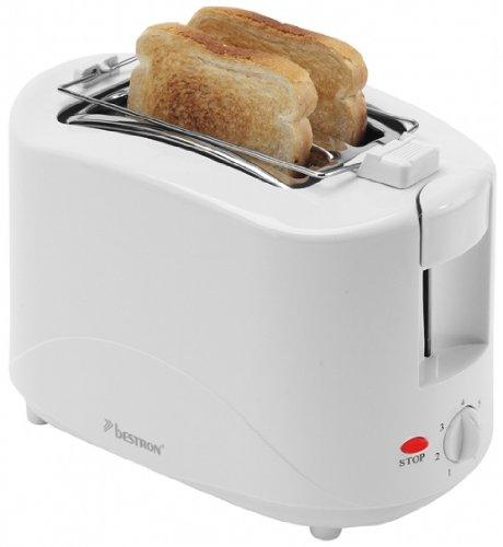 Bestron-AYT600-Toaster-Kunststoff-Wei