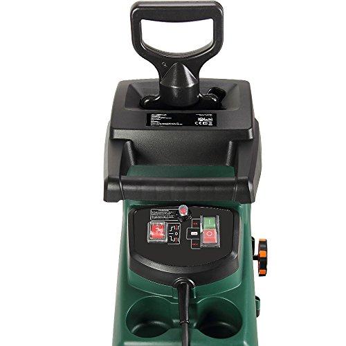Monzana-Elektrischer-Leisehcksler-2800W-max-44mm-Aststrke-60L-Auffangbeutel-Rckwrtslauf-berlastschutz-Wiederanlaufschutz-geringes-Gewicht-Schredder-Leisehcksler-Hcksler-Holzhcksler