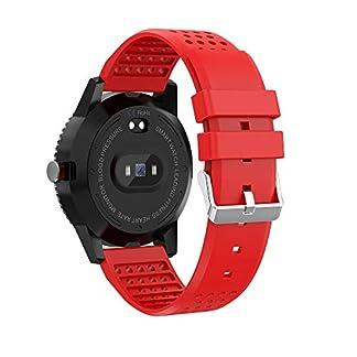 VRTUR-Smartwatch-Android-Damen-Herren-Multi-Functional-Fitness-Tracker-Wasserdicht-Uhr-SchrittzhlerSchlaf-MonitorStoppuhrBlutdruck-Herzfrequenz-Modus-Smart-Armband-Watch