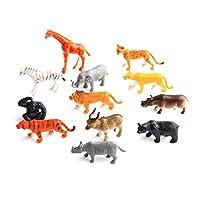 Naisicatar-Tierfigur-Jumbo-Dschungel-Tier-Spielzeug-Set-12-Stck-Playkidz-Spielzeug-Realistisch-Wildes-Vinyl-Tier-fr-Kinder-Kunststoff-Tier-Partei-Bevorzugungen-Lernen-Wald-Tiere