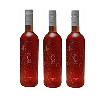 3x-Caramelo-Rose-lieblich-750ml-10-Vol-Tsantali-lieblicher-griechischer-Rosewein-aus-Griechenland-10ml-Probiersachet-Olivenl-von-Kreta