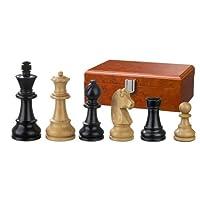 Philos-2125-Schachfiguren-Ludwig-XIV-Knigshhe-95-mm-gewichtet-in-Figurenbox