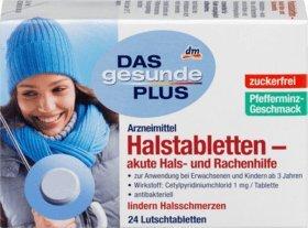 DAS gesunde PLUS Halstabletten – akute Hals- und Rachenhilfe, 24 St Arzneimittel