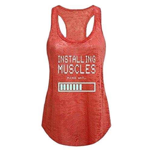 Damen-Tank-Tops-Plus-Gre-Rovinci-Sommer-Frauen-Basic-rmellos-O-Ausschnitt-T-Shirt-Spaghetti-Trger-Batterie-Druck-Weste-Tanktops-Vest-Stretch-Bluse-Trgershirt-Trgertop-Oberteile