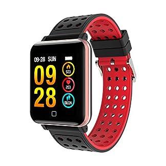 Chenang-M19-Intelligente-Uhr-FitnessarmbandAktivittstracker-SmartwatchGPS-Laufuhr-Wasserdicht-IP67-zur-Herzfrequenz-und-Fitnessaufzeichnung
