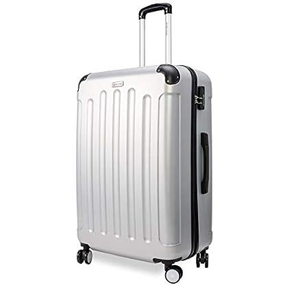 KESSER-3tlg-Reisekoffer-Set-Trolley-Hartschale-Hartschalenkoffer-Koffer-M-L-XL