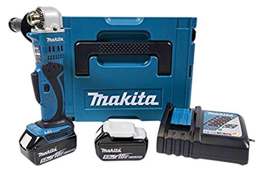 Makita-DDA350RTJ-Akku-Winkelbohrmaschine-18-V-ZKBF-50-Ah-2-Akkus-und-Ladegert-im-MAKPAC