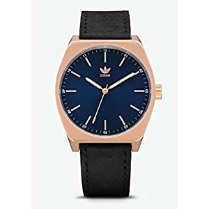 Adidas-Herren-Analog-Quarz-Smart-Watch-Armbanduhr-mit-Leder-Armband-Z05-2967-00