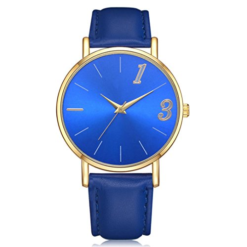 Armbanduhr-Damen-erthome-Einfache-Elegant-Uhren-Lederband-Analog-Quarz-Runde-Armbanduhr-fr-Damen-Mdchen–Geschenk-Uhren