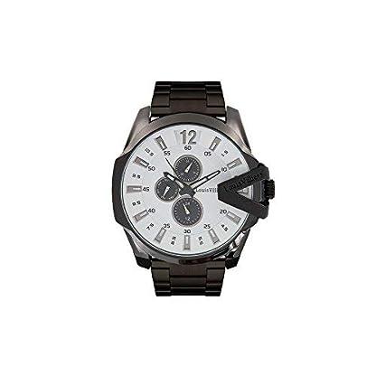 Louis-Villiers-Unisex-Analog-Quarz-Uhr-mit-Edelstahl-Armband-LVAG8912-4