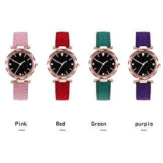 SO-buts-Damen-SmartwatchLssige-Analog-Uhren-Armband-aus-LederMode-Sterne-Sky-Lady-WatchLuxus-Quarz-Diamantuhr