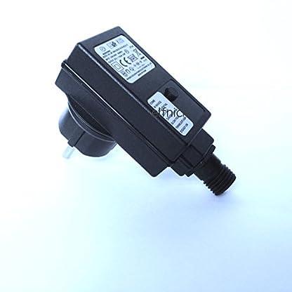 Neu-LED-Lichterkette-15m-lang-Wasserdicht100-bunte-Dioden-RGB-Leiterbahnen-aus-Kupfer-mit-grnes-Kabel-8-Programme-Trafo-DEKRA-GS-geprft-Sicherheit-Fr-Innen-und-Auen