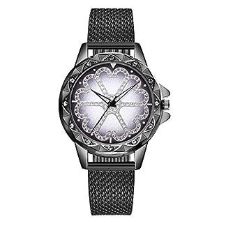 Damen-Quarz-Uhren-Javpoo-Vansvar-Damen-Casual-Quarz-Kunststoff-Lederband-Lucky-Flower-Strass-Uhr-rundes-Zifferblatt-Armbanduhr-Armbanduhr-Valentinstag-Geburtstagsgeschenk